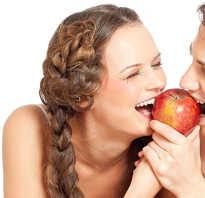 Калорийность яблока среднего размера