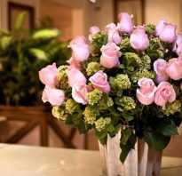 Как можно реанимировать розы в букете