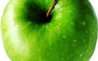 Сколько калорий в яблоке 1 шт среднее