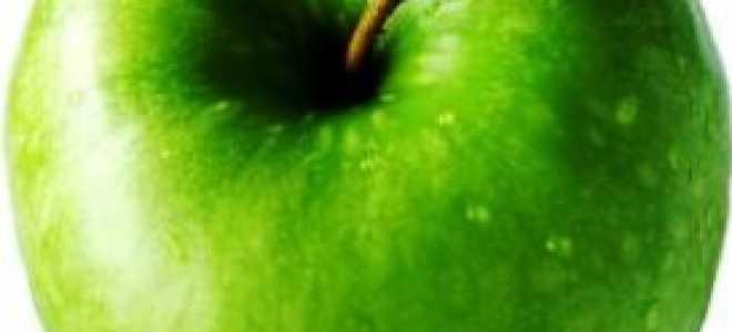 Калории в среднем яблоке
